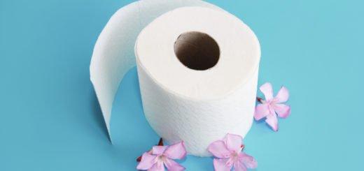 selbstauflösendes Toilettenpapier für Chemie-WC Camping-Toilette