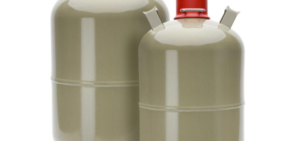Gasflasche tauschen